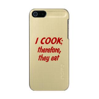 Chef's Philosophy Incipio Feather® Shine iPhone 5 Case