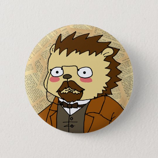 Chekhov cameo button