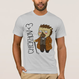 Chekhov hedgehog t-shirt