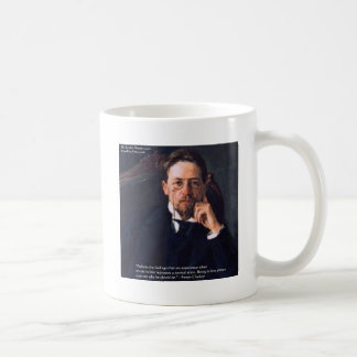 """Chekhov """"Love Normal State"""" Quote Gifts Tees Cards Coffee Mug"""