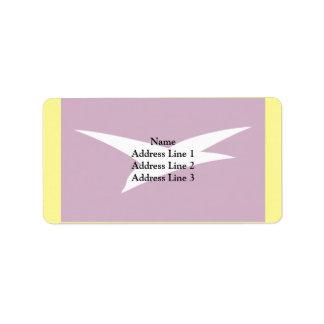 Chekhov (Moscow Oblast), Russia Address Label