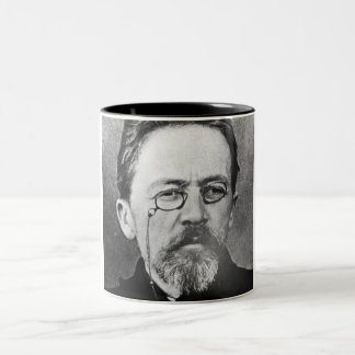 Chekhov Mug. Two-Tone Coffee Mug