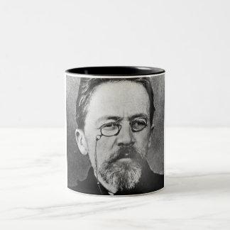 Chekhov Mug. Two-Tone Mug