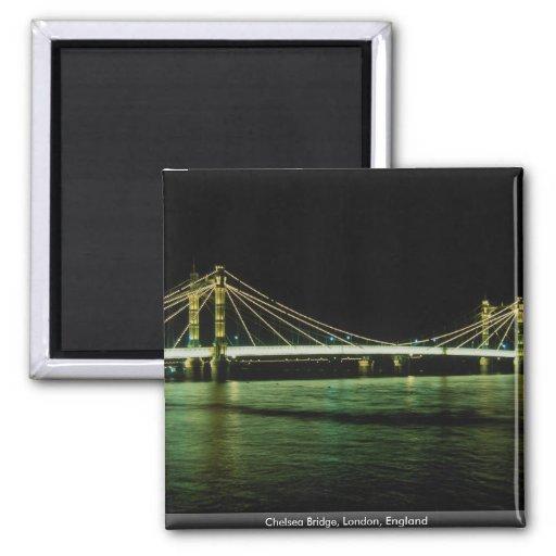 Chelsea Bridge, London, England Magnet