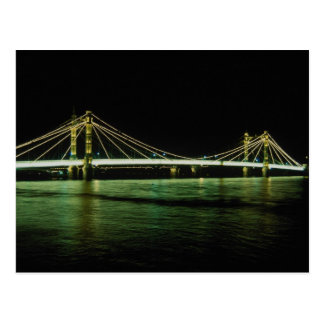 Chelsea Bridge, London, England Post Card