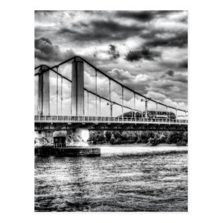 Chelsea Bridge London Postcard