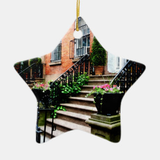 Chelsea Brownstones Christmas Ornament