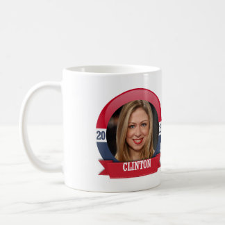 CHELSEA CLINTON 2016 BASIC WHITE MUG