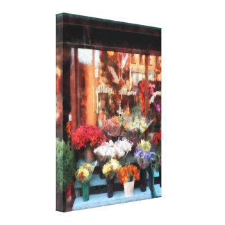Chelsea Flower Shop Gallery Wrapped Canvas