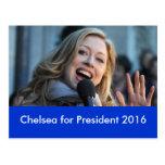 Chelsea for President 2016 Postcard