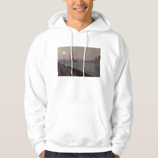 Chelsea Power Station by Night Hoodie