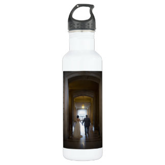 Chelsea & Richard's Wedding Water Bottle 710 Ml Water Bottle