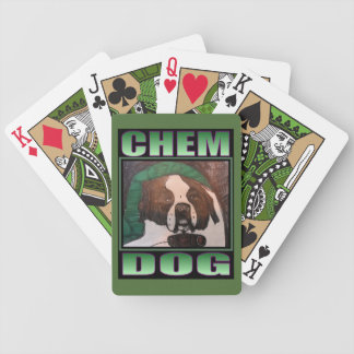 CHEM DOG BICYCLE POKER CARDS