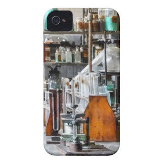 Chem Lab With Test Tubes And Retort Case-Mate iPhone 4 Cases