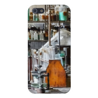 Chem Lab With Test Tubes And Retort Cover For iPhone 5/5S