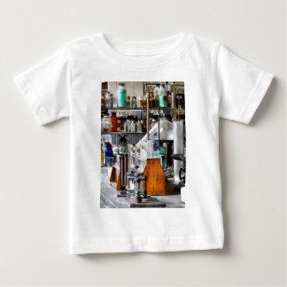 Chem Lab With Test Tubes And Retort Tshirt