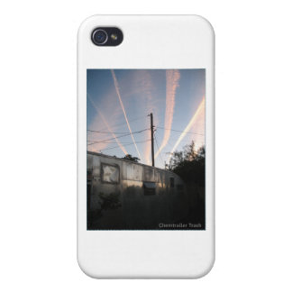 Chem Trailer Trash Cover For iPhone 4