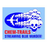 Chem Trails Postcard