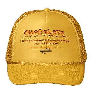 'Chemical  CHoCoLaTe' Cap