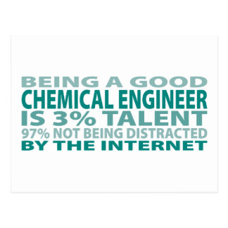 Chemical Engineer 3% Talent Postcards