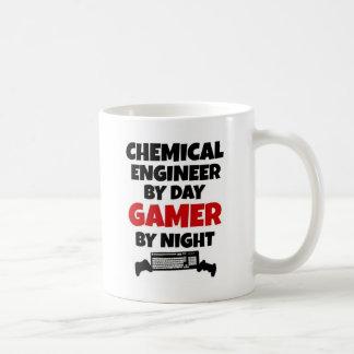 Chemical Engineer by Day Gamer by Night Basic White Mug