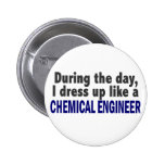 Chemical Engineer During The Day Button
