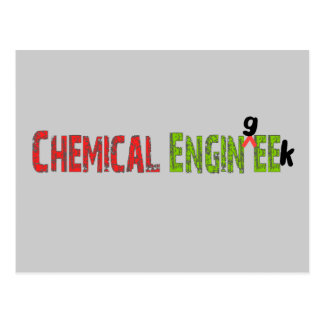 Chemical Engineer (EnginGEEK) Funny Gifts Postcard