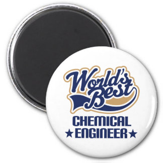 Chemical Engineer Gift 6 Cm Round Magnet