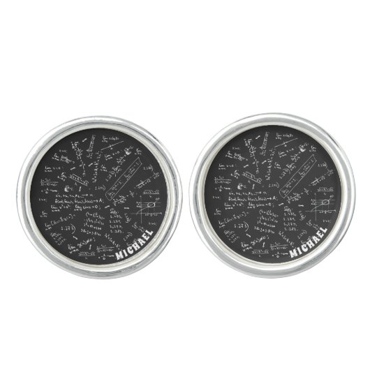 Chemical Formula Chemistry Gifts Personalised Cufflinks
