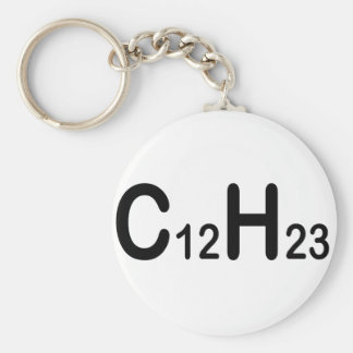 Chemical Formula Of Diesel Fuel Basic Round Button Key Ring