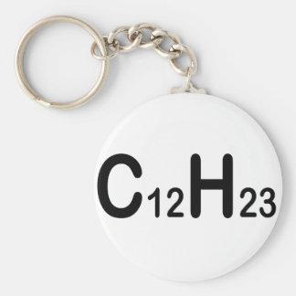 Chemical Formula Of Diesel Fuel Key Ring