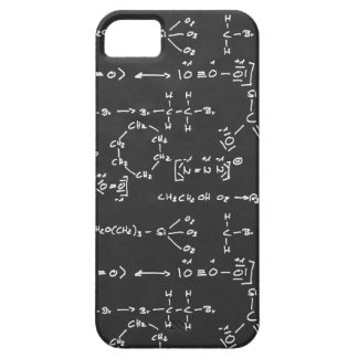 Chemical formula writing barely there iPhone 5 case