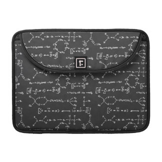 Chemical formula writing sleeve for MacBook pro