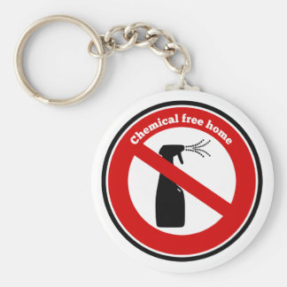 Chemical free home key chains