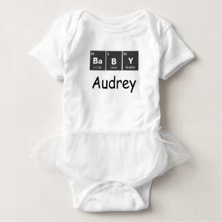 Chemical periodic table of elements: BaBY T-shirt