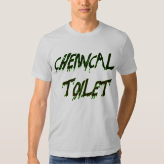 CHEMICAL TOILET TEE SHIRTS