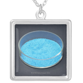 Chemicals Silver Plated Necklace
