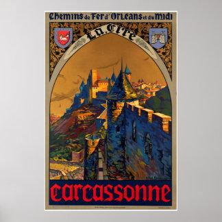 Chemin de fer d'Orléans et du midi, Carcassonne Poster