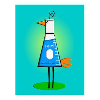 "Chemist ""Beeker Bird"" Gifts Postcard"
