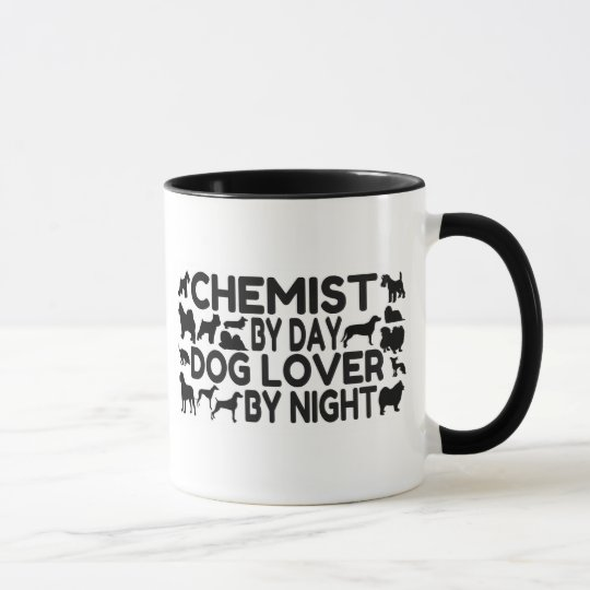 Chemist by Day Dog Lover by Night Mug