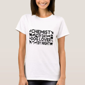 Chemist by Day Dog Lover by Night T-Shirt