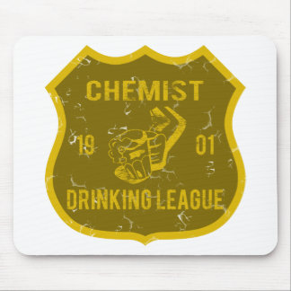 Chemist Drinking League Mouse Pads
