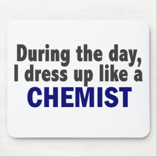 Chemist During The Day Mouse Pad