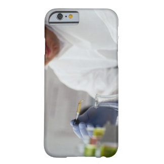 Chemist Measuring Drops into a Flask Barely There iPhone 6 Case