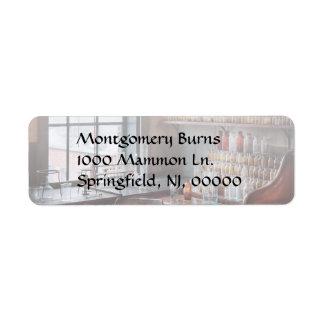 Chemist - Perfume Science Return Address Label