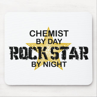 Chemist Rock Star by Night Mouse Pads