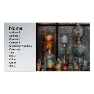 Chemist - The Apparatus Pack Of Standard Business Cards