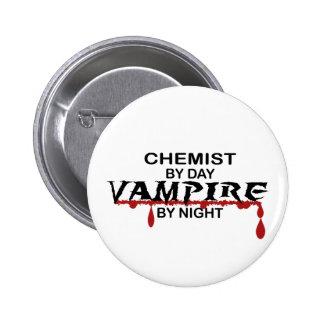 Chemist Vampire by Night 6 Cm Round Badge