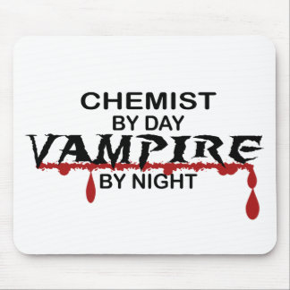 Chemist Vampire by Night Mouse Mats