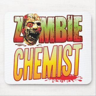 Chemist Zombie Head Mouse Pad
